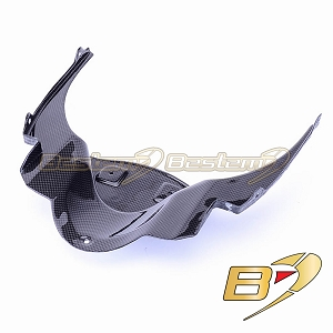 Ducati 848 1098 1198 100% Carbon Fiber Head Cowl Under Panel