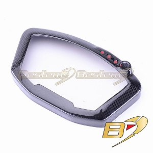 Ducati 848 1098 1198 100% Carbon Fiber Instrument Guard Dash