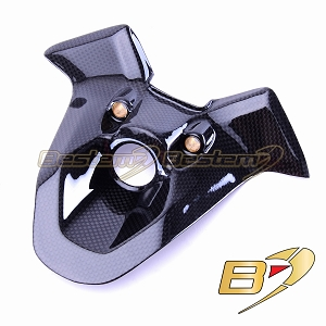 Ducati 848 1098 1198 Key Ignition Guard Cover Panel Fairing 100% Carbon Fiber