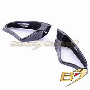 Ducati 848 1098 1198 100% Carbon Fiber Mirror Covers