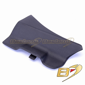 Ducati 1199 1299 Panigale 100% Carbon Fiber Battery Cover, Matte finish