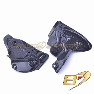 Ducati 899 1199 1299 100% Carbon Fiber Engine Case Covers