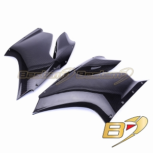 Ducati 1199 Panigale 100% Carbon Fiber Side Fairings