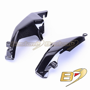 Ducati Monster 696 796 1100 100% Carbon Fiber Radiator Side Covers