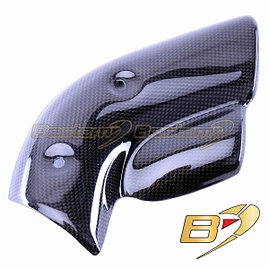 Ducati 748/916/996/998 100% Carbon Fiber Exhaust Muffler Pipe Heat Shield