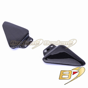 Ducati 748 916 996 998 100% Carbon Fiber Heel Guards
