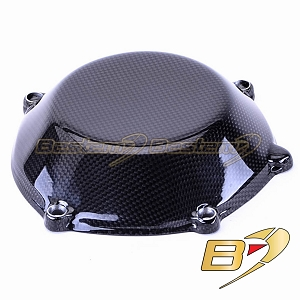 Ducati 100% Carbon Fiber Dry Clutch Cover, Closed Style