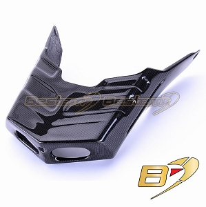 Ducati 749 999 100% Carbon Fiber Exhaust Pipe Cover Guard, Not for S Model