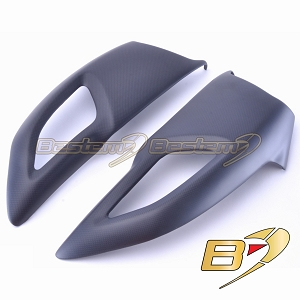 Ducati Diavel 2011 - 2014 100% Carbon Fiber Air Intake Covers Matte Finish