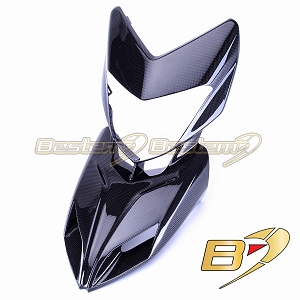 2013-2018 Hypermotard 821 939 Carbon Fiber Front Nose Cowl Head Upper Fairing