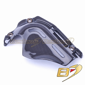 2013-2018 Hypermotard / Hyperstrada Engine Sprocket Chain Case Cover Fairing Carbon Fiber