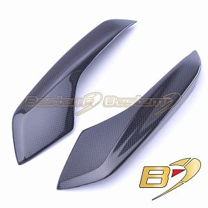 2013-2018 Ducati Hypermotard / 2013-2016 Hyperstrada Rear Upper Side Tail Trim Fairing Cowl Carbon Fiber