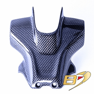 2019  Ducati Hypermotard 950 Carbon Fiber Rear Seat Number Plate Cowl Fairing