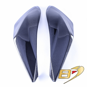2019  Ducati Hypermotard 950 Carbon Fiber Seat Side Panels 2
