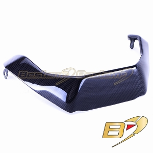Ducati Monster 1200S 2014 100% Carbon Fiber Belly Pan Spoiler Trim