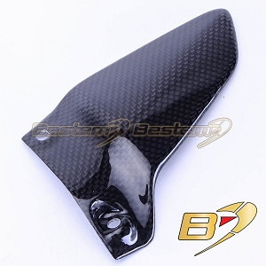 Ducati Monster 1200S 2014 100% Carbon Fiber Heel Guard