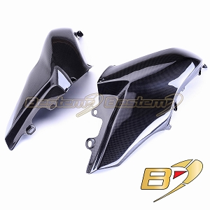 Ducati Multistrada 1200 2010-2012 100% Carbon Fiber Tank Side Panels