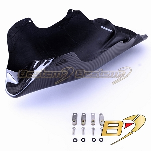 Ducati Monster S4R 100% Carbon Fiber Belly Pan Kit
