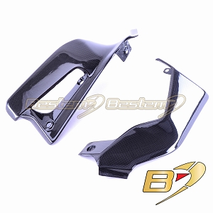 2015-2018 Ducati Scrambler Radiator Side Cover Panel Fairing Carbon Fiber 2017