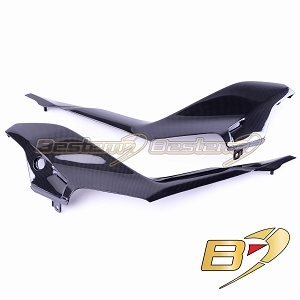 Ducati SuperSport 2017 - 2018 Carbon Fiber Seat Side Panel Fairings