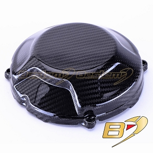 Ducati Streetfighter 100% Carbon Fiber Clutch Cover, Twill