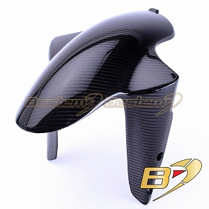 Ducati Streetfighter 100% Carbon Fiber Front Fender, Twill