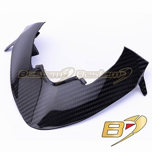Ducati Streetfighter 100% Carbon Fiber Instrument Cover Frame, Twill