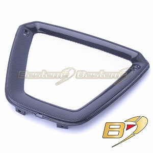 Ducati XDiavel 2016 - 2018 100% Carbon Fiber Radiator Vent Cover Panel Fairing