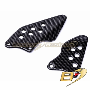 Kawasaki ZX10R 2004 - 2005 100% Carbon Fiber Heel Guards