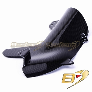 Kawasaki ZX10R 2006 - 2007 100% Carbon Fiber Heat Shield