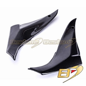 Kawasaki ZX10R 2008 - 2010 100% Carbon Fiber Side Panels 1