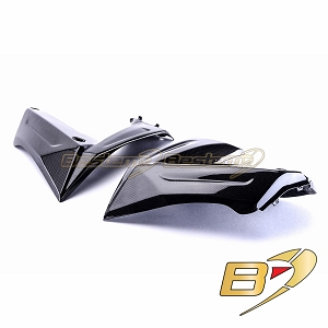 Kawasaki ZX10R 2008 - 2009 100% Carbon Fiber Side Panels 3