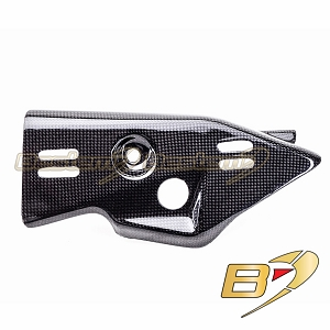Kawasaki ZX10R 2011 - 2015 100% Carbon Fiber Exhaust Heat Shield Cover