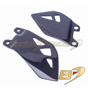 2011-2019 Kawasaki ZX10R 100% Carbon Fiber Heel Guards