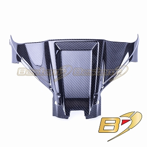 2016-2019 ZX-10R Carbon Fiber Air Box Cover Panel Twill Weave Pattern