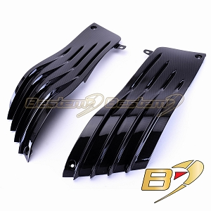 Kawasaki ZX14 2006-2011 100% Carbon Fiber Side Panels, Upper