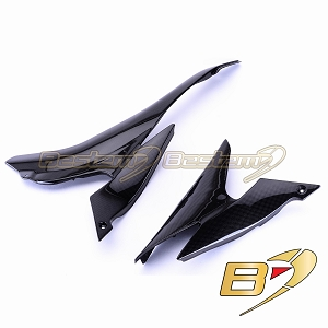 Kawasaki ZX6R 2007 - 2008 100% Carbon Fiber Side Cover Panels