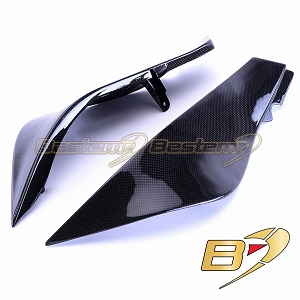 Kawasaki ZX6R 2007 - 2008 100% Carbon Fiber Upper Body Panels
