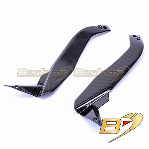 Kawasaki Z1000 2010 - 2013 100% Carbon Fiber Side Panels