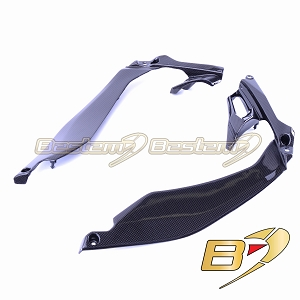 Kawasaki Z1000 2014 - 2019 100% Carbon Fiber Side Panels
