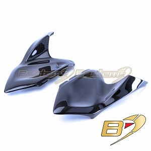 Kawasaki Z1000 2014 - 2019 100% Carbon Fiber Tank Side Panels