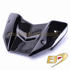 Kawasaki Z800 2013 100% Carbon Fiber Wind Screen