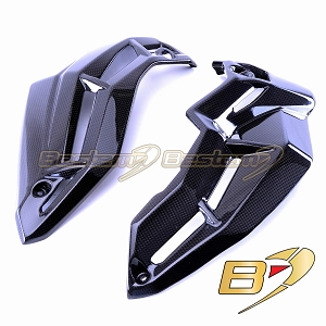 Kawasaki Z900 2017 2018 100% Carbon Fiber Lower Bottom Oil Belly Pan