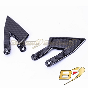 KTM Superduke 990 2005 - 2010 100% Carbon Fiber Heel Guards