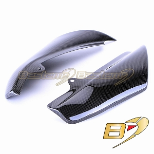KTM Superduke 990 2005 - 2010 100% Carbon Fiber Heat Shield