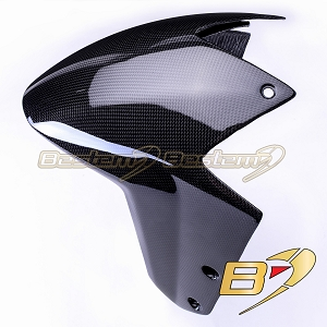 KTM Superduke 1290 R 2014 100% Carbon Fiber Front Half of Front Fender Version 3