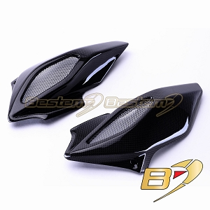 MV Agusta Brutale 675 800 Dragster 800 100% Carbon Fiber Air Intake Covers,