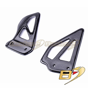 Suzuki GSXR 600 750 1000 2000 - 2003 100% Carbon Fiber Heel Guards