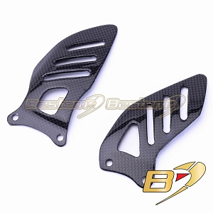 Suzuki GSXR 600 750 2006 - 2009 100% Carbon Fiber Heel Guards