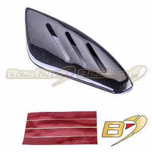 Suzuki GSXR 600 750 2006 - 2007 100% Carbon Fiber Exhaust Heat Shield with Tape